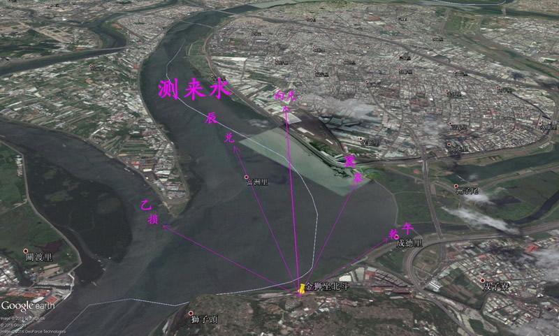 三元风水操作基本功:测数据立向